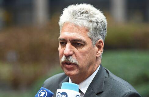 Austria's Finance Minister Hans Joerg Schelling