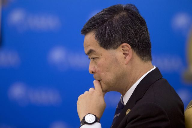 Pro-Beijing Hong Kong chief not to seek re-election