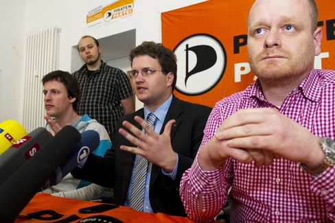 What Do Europe's Pirate Parties Stand for?