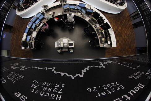 Most European Stocks Climb as Japan Unveils Stimulus