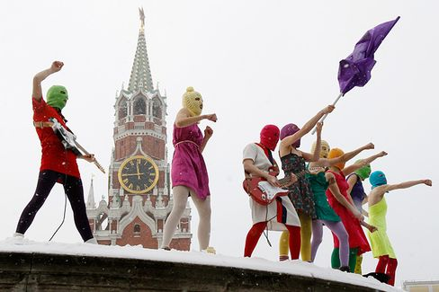 Meet Pussy Riot, Russia's Punk Protesters