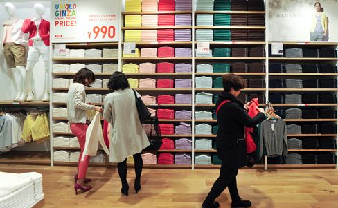 Fast Retailing Slumps After March Sales Disappoint