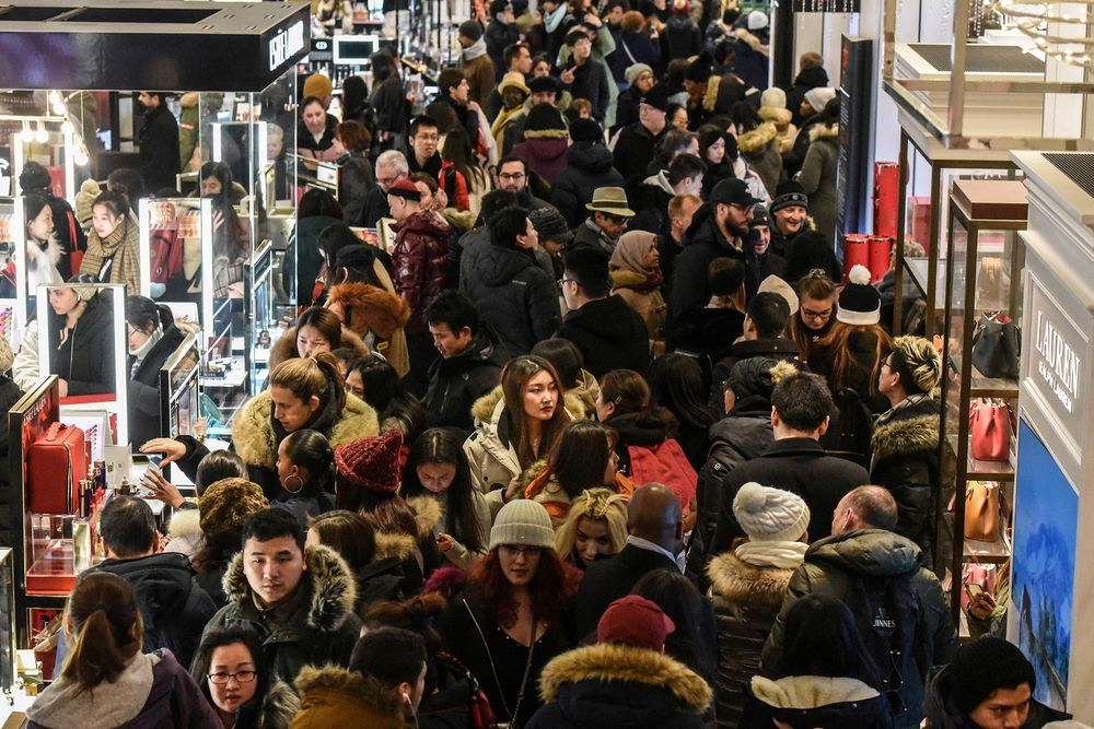 Black Friday What Happens To Malls When Shoppers Are Covid Wary Bloomberg