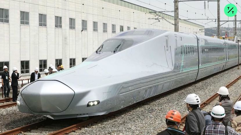 World's Fastest Bullet Train Starts High-Speed Tests in