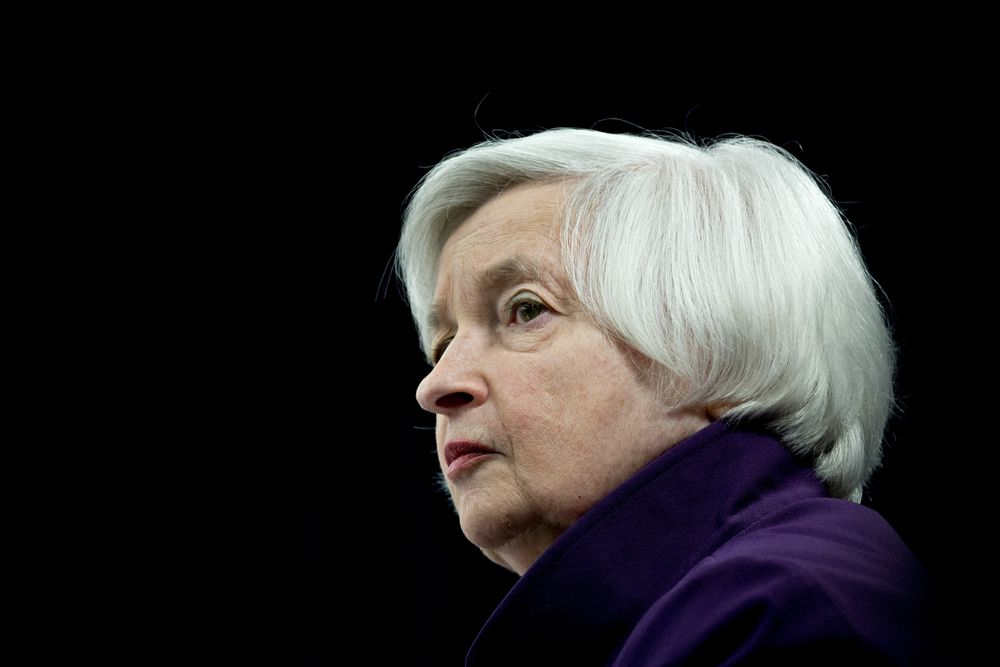 janet yellen tight lipped on news she s in the mix for biden treasury secretary bloomberg janet yellen tight lipped on news she s