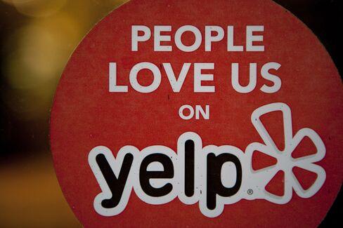 Yelp Falls as Sales Forecast Misses Estimates on Brand Ad Slump