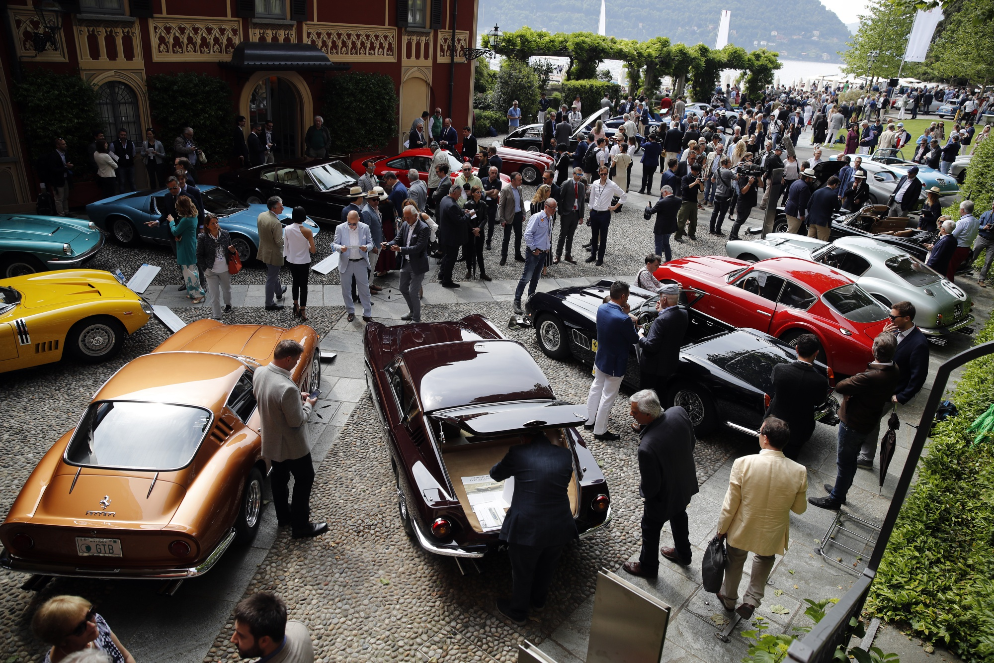 The World's Rarest Cars on Show at Lake Como