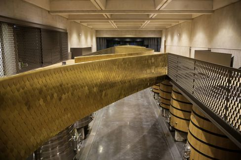 The new cellar at Château Marquis d'Alesme