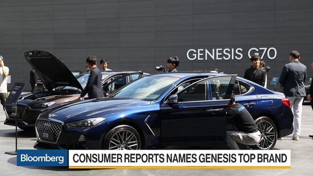 luxury car ranks upended as genesis tops germany 39 s stalwarts bloomberg. Black Bedroom Furniture Sets. Home Design Ideas