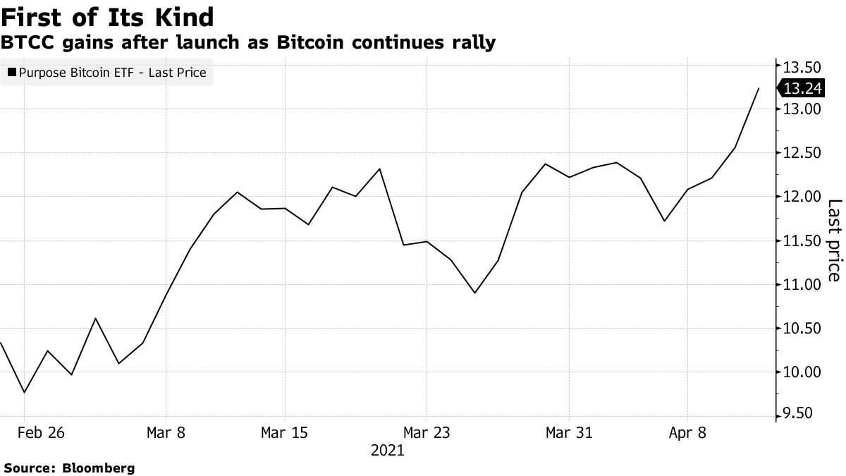 BTCC gains after launch as Bitcoin continues rally