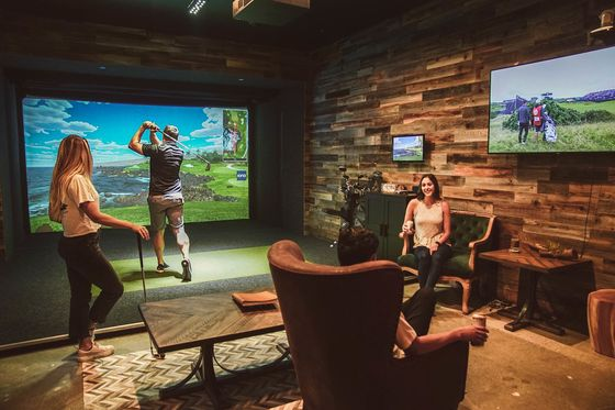No Caddy Required: Homeowners Are Driving Demand for Golf Simulators