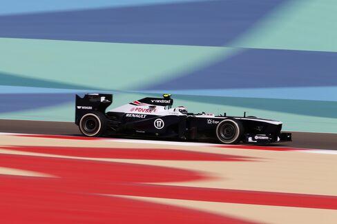 Williams Formula One Team Has 5-Million Pound Loss on Hybrid Bet