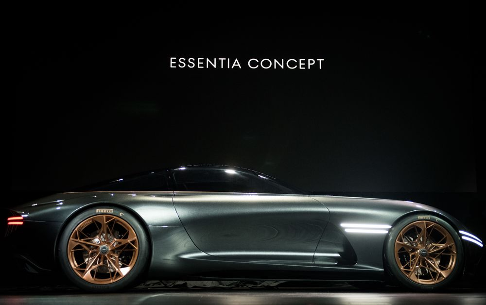 All-Electric Genesis Essentia Concept Debuts at New York Show