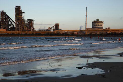 Posco Steel Mill