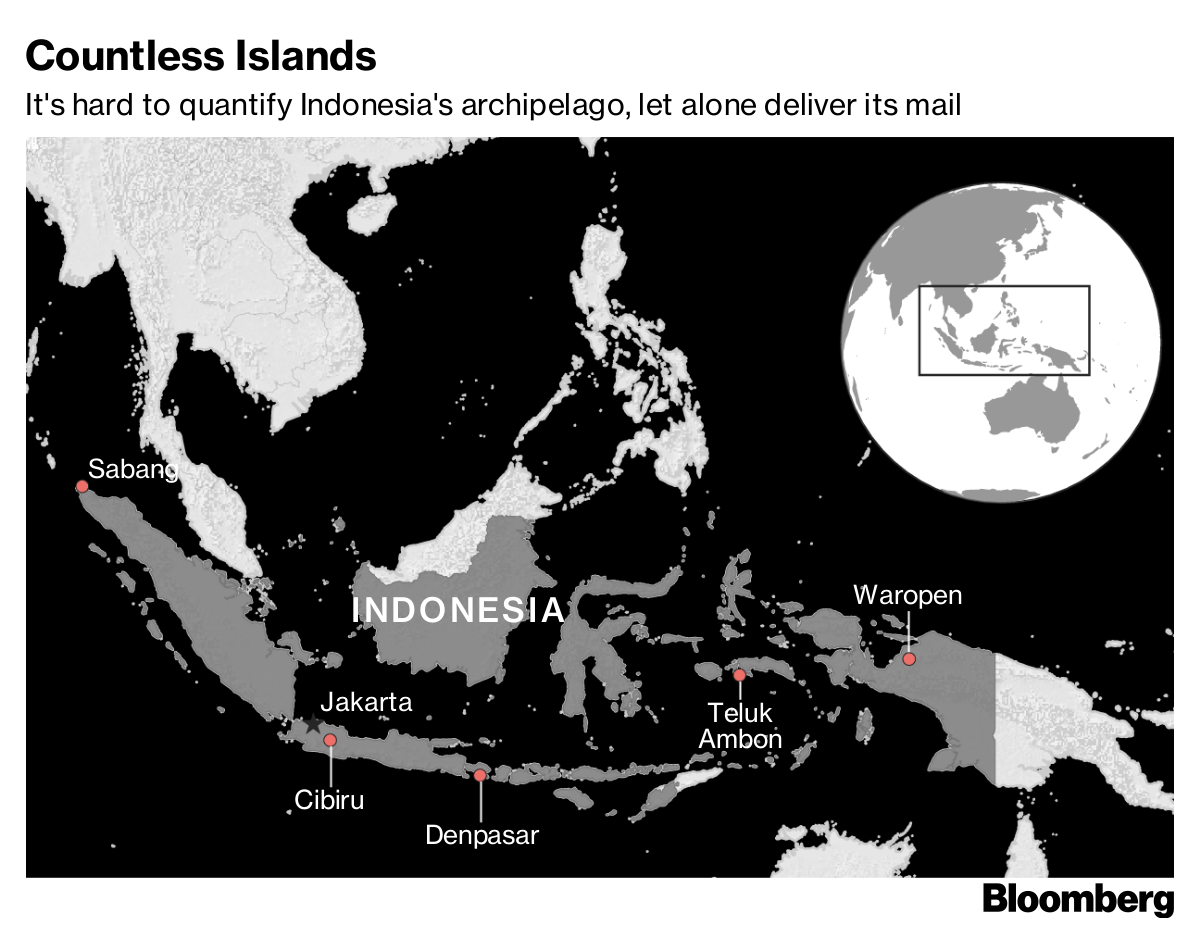 Online Shopping Boom Tests Indonesia S Postal Delivery System Bloomberg