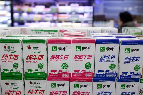 Mengniu Agrees to Buy Modern Dairy Stake to Control Milk Quality