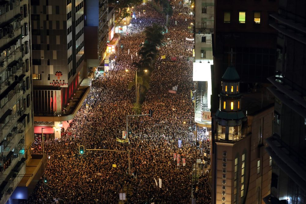 Hong Kong Protest: Huge Demons...