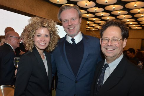 Laurel and Paul Britton and Adam Weinberg