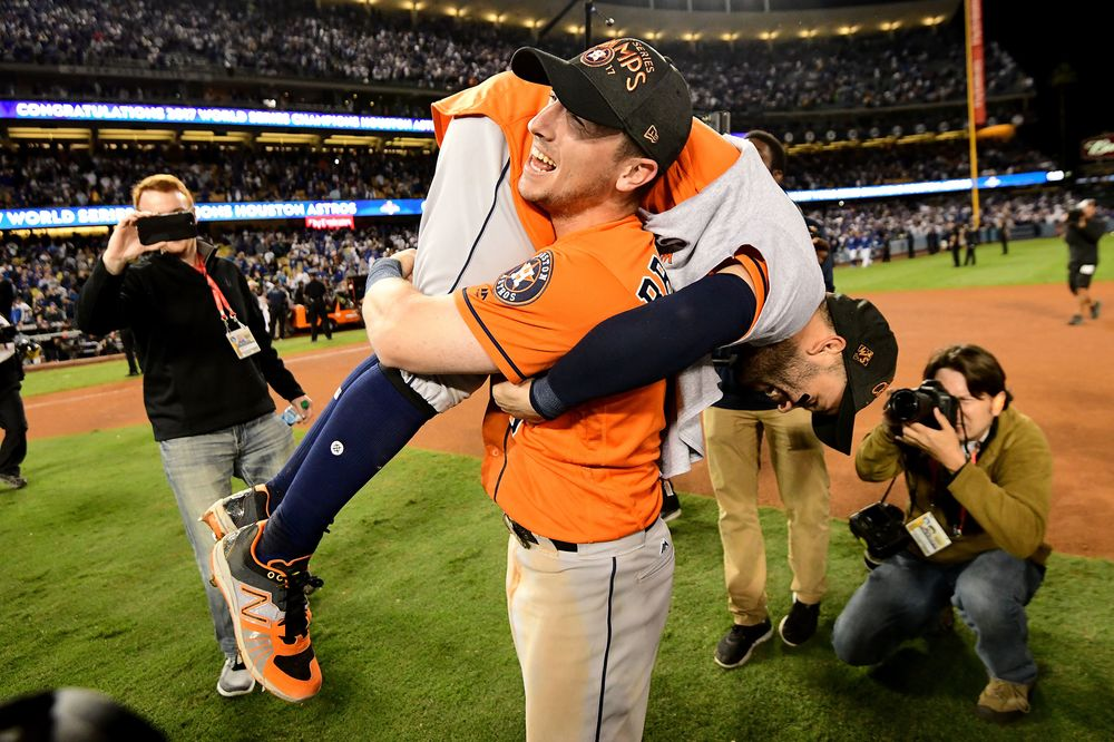 cdde606ce59 Astros Win First World Series