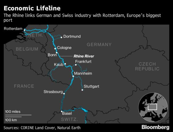 Germany's Dried-Up Rivers Cut Growth But the Rebound Is Coming
