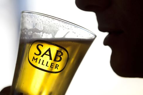 SABMiller's Quarterly Sales Beat Estimates on Africa, Asia Gains