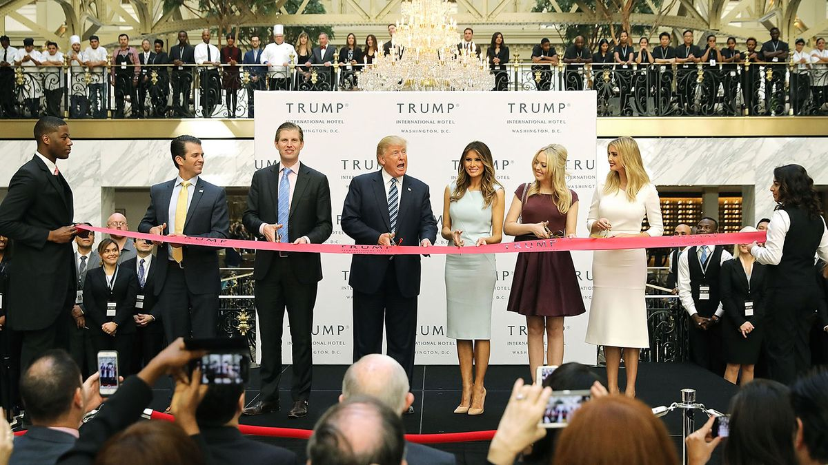 Trump's Company Tells Congress Its Plan for Distributing Foreign Profits