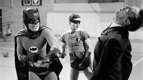Batman Fights Crime