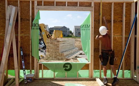 Homebuilders Surge With U.S. New-House Sales 50% Below Average