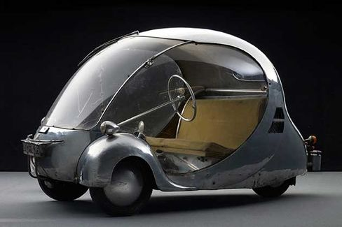 L'Oeuf Electrique, 1942; designed and fabricated by Paul Arzens