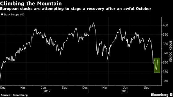 Europe Stocks Set for Best Week Since 2016
