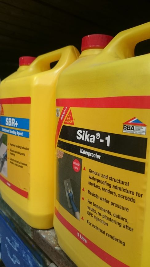 Sika products on the shelf