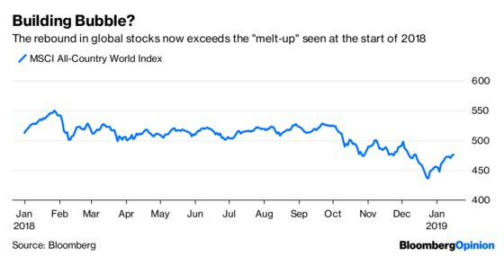 The Stock Melt-Up Explained in Three Easy Pieces
