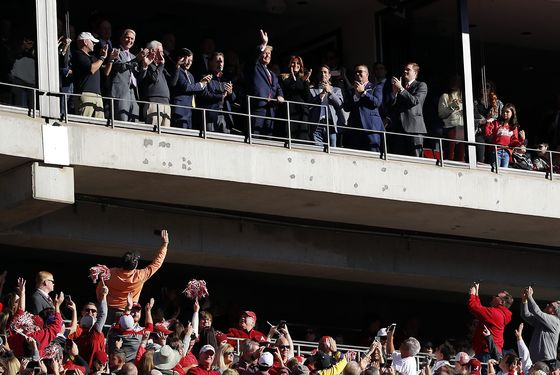Trump Finds Refuge Amid Cheers at Alabama-LSU Gridiron Clash