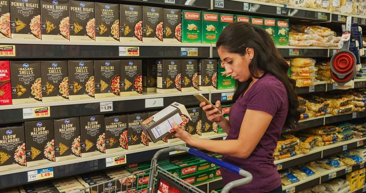 Kroger, Microsoft Create Futuristic Grocery Store  Amazon