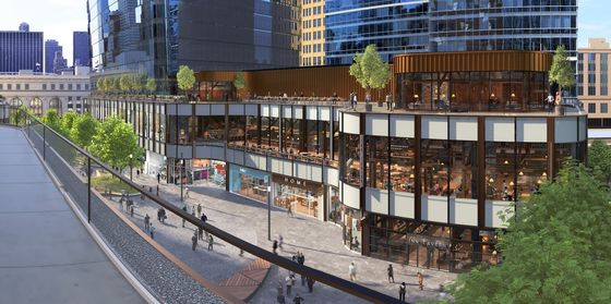 Cuomo Proposes Extending Manhattan's High Line to New Train Hall