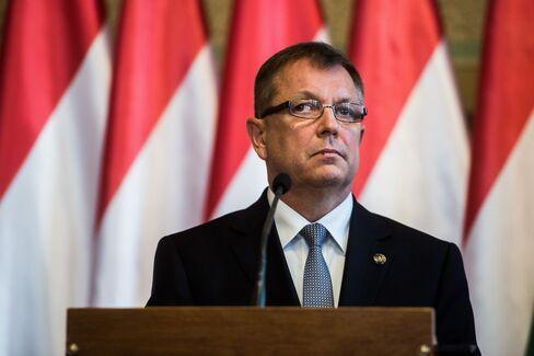 President Gyorgy Matolcsy