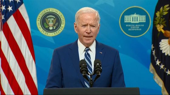 Biden Hails Vaccine Progress While Warning of New Virus Wave