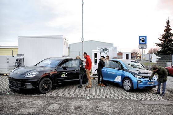 BMW and Porsche Just Beat Tesla to Three-Minute Charge