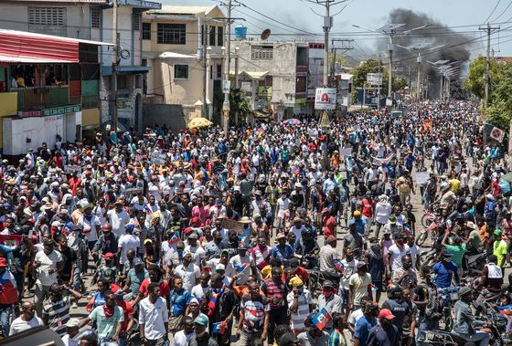 Haiti Leader Defies Protester Calls to Cancel Election and Quit