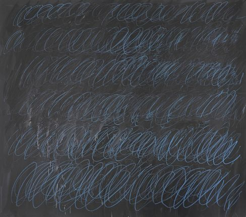 Cy Twombly's Untitled (New York City), 1968