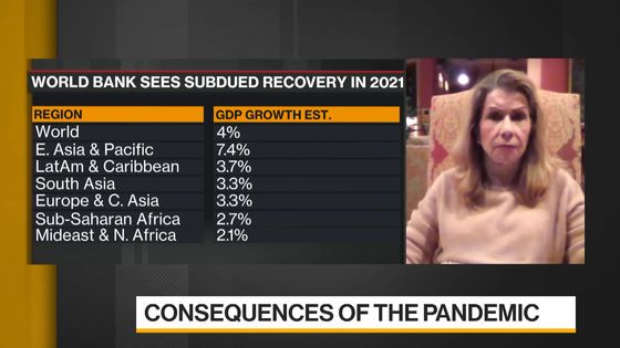 Reinhart Frets World Faces Financial Crisis if Pandemic Lingers