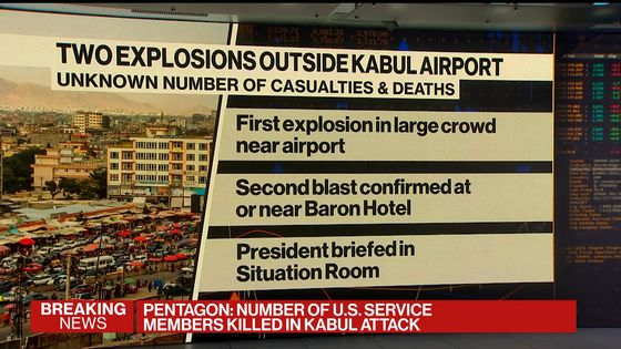 Kabul Attacks Kill 12 U.S. Service Members, at Least 60 Afghans