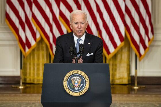 Biden Defends U.S. Exit From Afghanistan as Criticism Mounts