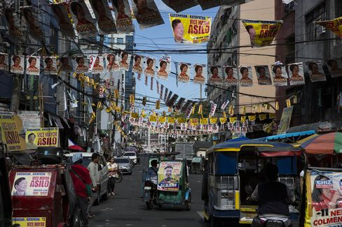 Last Campaigning Day Of The Philippines Presidential Elections