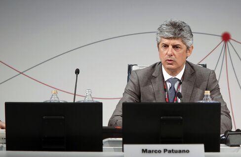Telecom Italia SpA CEO Marco Patuano