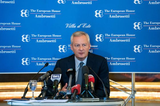 Le Maire's Italy Visit Reminds That France Too has Budget Issues