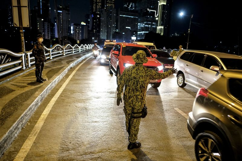 Curfew Imposed In Areas Of Metro Manila As Virus Lockdown Grinds Philippine's Capital to a Halt