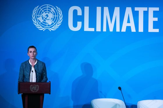Danish Premier Says Climate Outweighs Any Russia, China Tensions