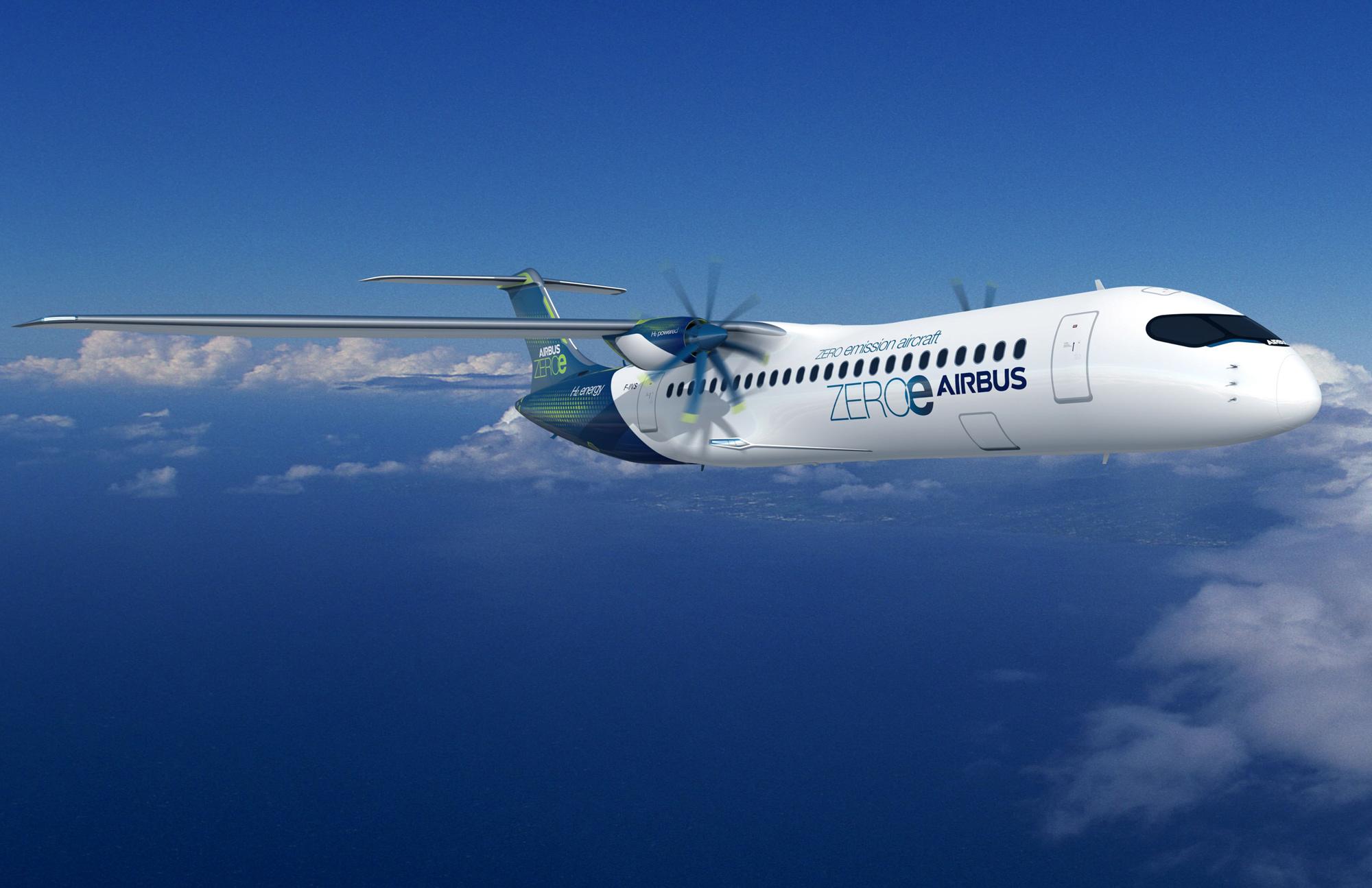 relates to Airbus Unveils Hydrogen Designs for Zero-Emission Flight
