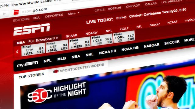ESPN Has Seen the Future of TV and They're Not Really Into It ...